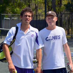 high school tennis zach and peter