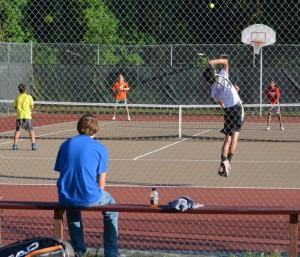 middle school tennis 2014 oak hall