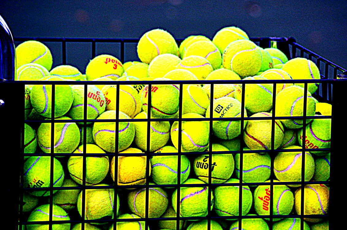 tennis ball basket more boost