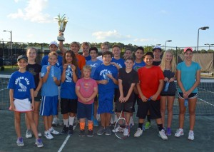 GACTA middle school tennis champs