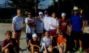 GACTA middle school tennis finalists